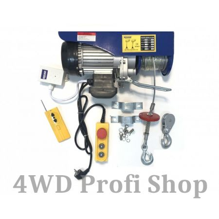 HusarWinch lifter winch P 400/800 with wireless remote control