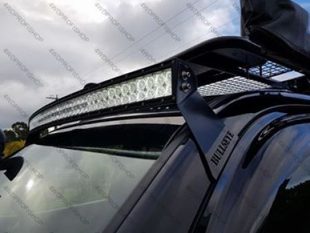 Bullseye Courved LED LIGHT BAR windscreen mount  Toyota Landcruiser Prado 120 125
