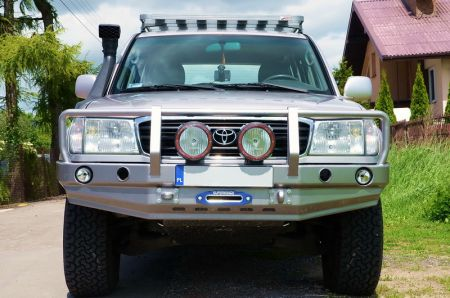 F4x4 Expedition bumper Pack for Toyota Land Cruiser J100 1998-2007